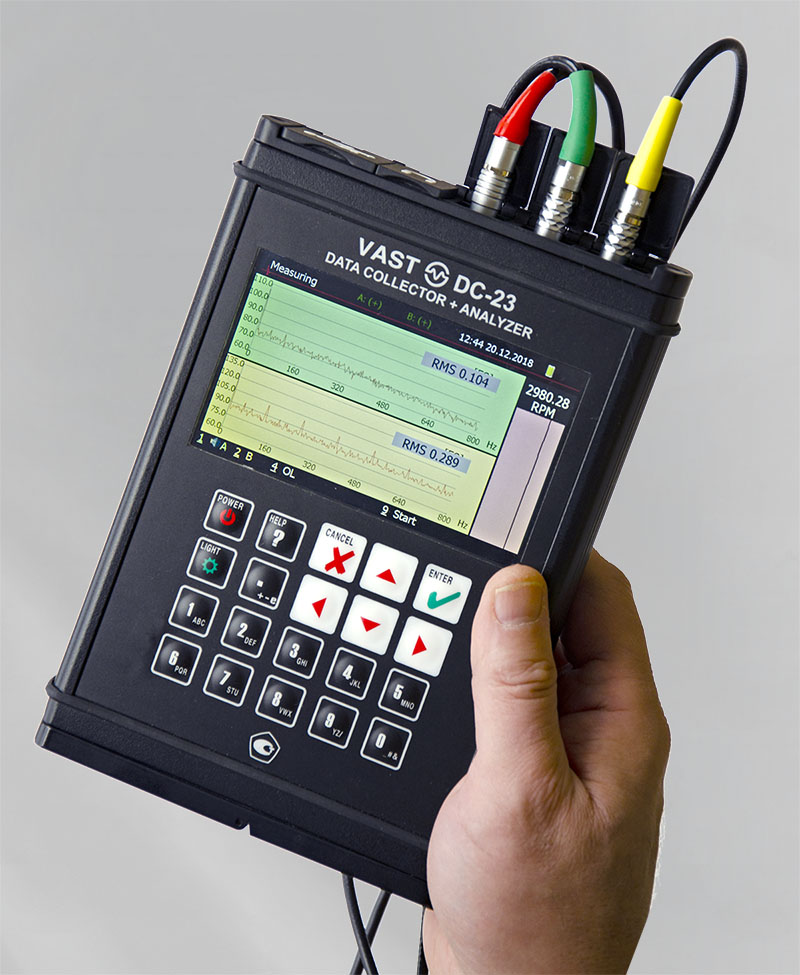 DC-23 Vibration Analyzer